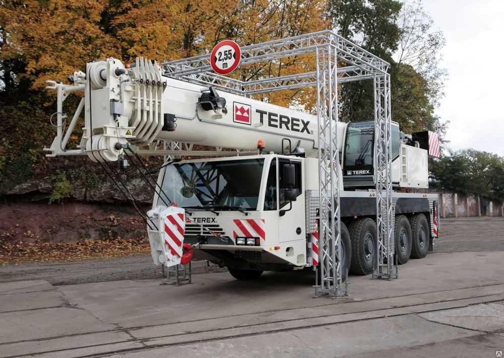 Аренда автокрана DEMAG AC100/4 100 тонн