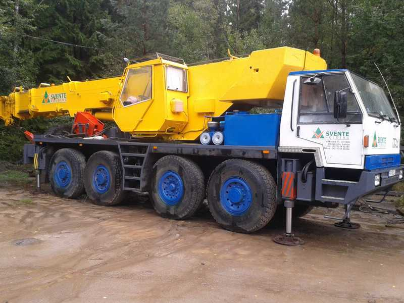 Аренда автокрана РРМ680 60 тонн