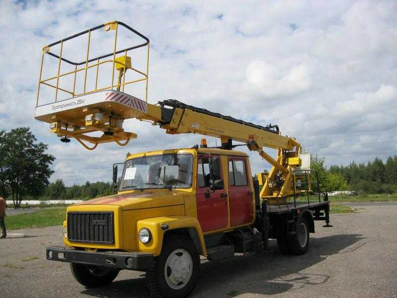 Аренда автовышки ВС-18Т (телескопическая)
