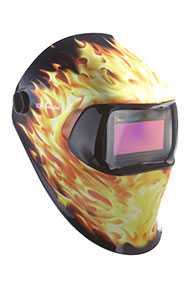 Маски сварщика / SPEEDGLAS 100V пламя