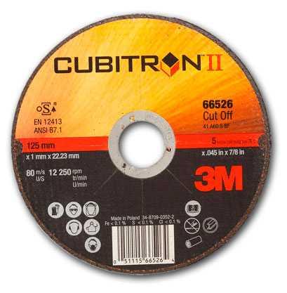 Отрезные круги 3М CUBITRON II