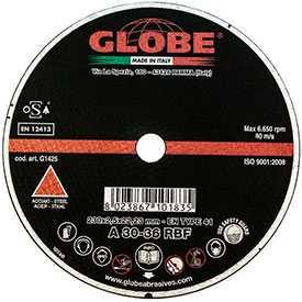 Отрезной абразивный круг GLOBE DYNAMIC 230x2,0x22.2 A60S