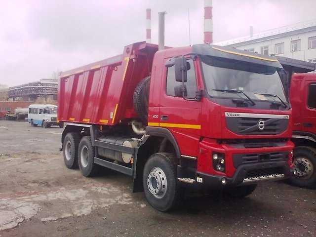 Аренда Самосвала Volvo FMX 20 м3