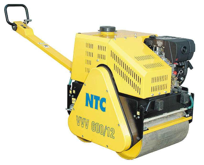 Аренда ручного виброкатка NTC 600