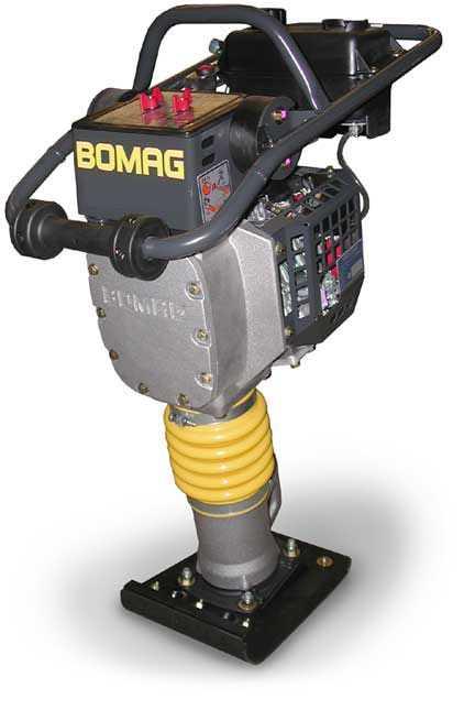 Аренда вибротрамбовки BOMAG BT 60/4