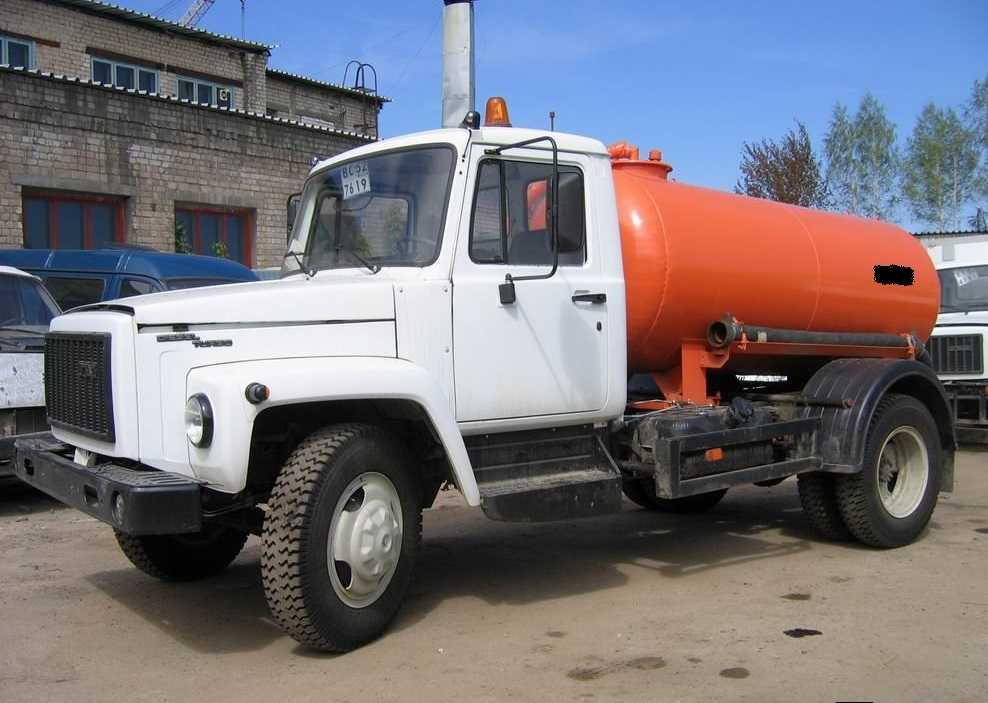 Аренда ассенизаторской машины ГАЗ 3309