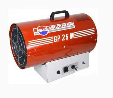 Аренда газаовой тепловой пушки ARCOTHERM GP 25 M
