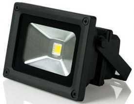 Прожектор светодиодный Gauss LED 10W COB 115*86*82mm IP65 6500К черный 1/16