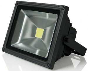 Прожектор светодиодный Gauss LED 20W COB 185*156*105mm IP65 6500К черный 1/16