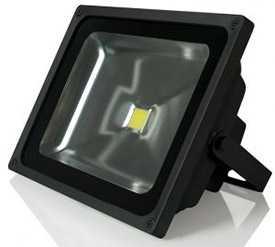 Прожектор светодиодный Gauss LED 40W COB 285*235*145mm IP65 6500К черный 1/6