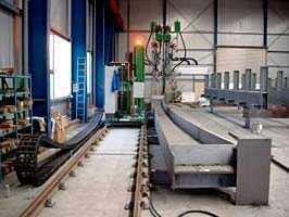 WOLTERSDORF (Сварка Мостовых Балок) Установки для механизированной сварки