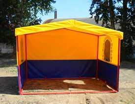Торговая палатка 3,0х2,0 м. с окошком