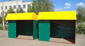 Торговая палатка 3,0х2,0 м. 'усеченная крыша'