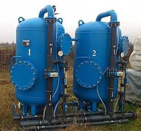 Напорная блочно-модульная установка водоподготовки «Кристалл-Н»