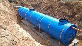 Установка очистки сточных вод заглубленного типа «Кристалл БИО-П»