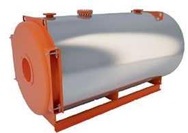 Промышленные котлы LAVART на газообразном и жидком топливе Серия Reverse