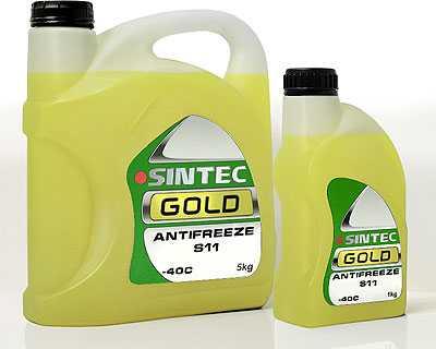 Sintec Antifreeze GOLD S 11