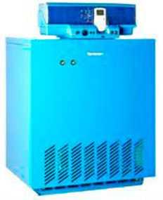 Чугунный отопительный котел Buderus Logano G334WS с атмосферной газовой горелкой (115 - 270 кВт)