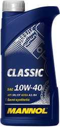 Масло моторное MANNOL CLASSIC 10W-40 1л