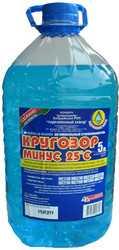 Стеклоомывающая жидкость Бобруйский завод биотехнологий Кругозор минус 25 5л