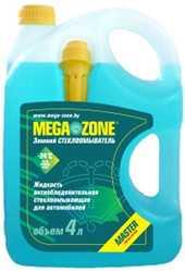 Стеклоомывающая жидкость MegaZone Master зимний -24 °С 4л
