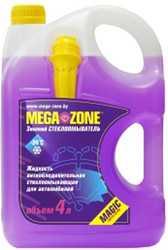 Стеклоомывающая жидкость MegaZone Magic зимний -24 °С 4л