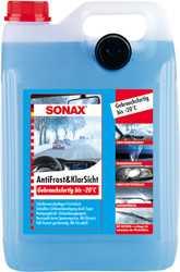 Стеклоомывающая жидкость Sonax 332500 зимняя 5л