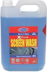 Стеклоомывающая жидкость Comma Xstream Screenwash Super Concentrated 5л (XSW5L)