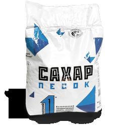 Сахар–песок в ламинированных пакетах 5 кг
