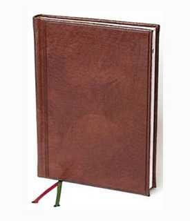 Ежедневник датированный А5 Универсал Мадера Brunnen коричневый -