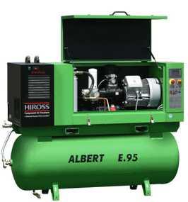 Компрессоры с прямым приводом, мощностью 3 - 22 kW серии Albert
