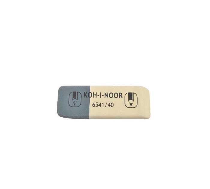 Ластик KOH-I-NOOR комбинированный, 60Х20Х7 мм
