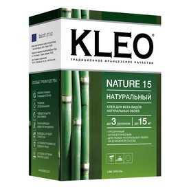 Обойный клей KLEO NATURE Line Premium