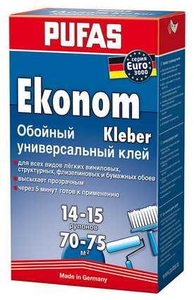 Универсальный обойный клей EURO 3000 Эконом PUFAS