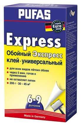 Экспресс клей EURO 3000 PUFAS