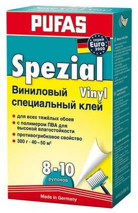 Клей виниловый специальный EURO 3000 PUFAS