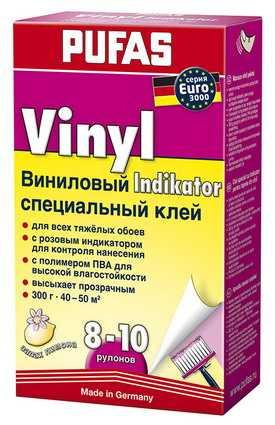 Индикатор Kлей виниловый специальный EURO 3000 PUFAS