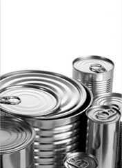 Банки и контейнеры для пищевых продуктов металлические