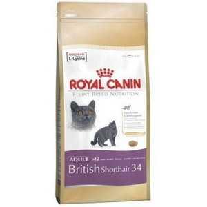 Корм для кошек породы Британская короткошерстная старше 12 месяцев Royal Canin British Shorthair 34 1 кг