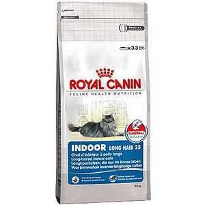 Корм для полудлинношерстных кошек Royal Canin Indoor Long Hair 35 1 кг