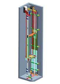 Лифты торговой марки LuxLift серия MODERN MRL (без машинного помещения)