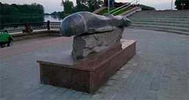 Парковые скульптуры из натурального камня