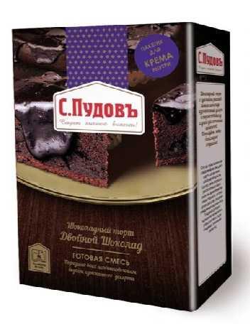 Шоколадный торт от С.Пудовъ