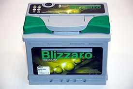 Аккумулятор 6СТ- 55 BLIZZARO