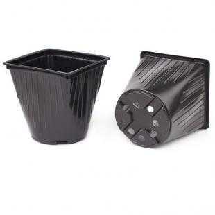 Горшок для рассады пластиковый мягкий (14х14х14 см)