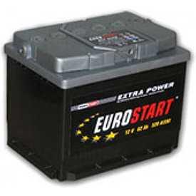 Аккумулятор Eurostart ES 6CT-55 (55 А/ч)