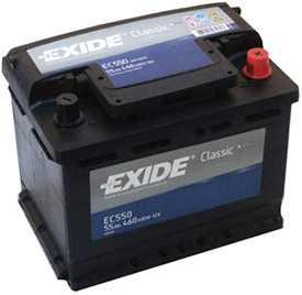 Аккумулятор Exide EC550 STANDART