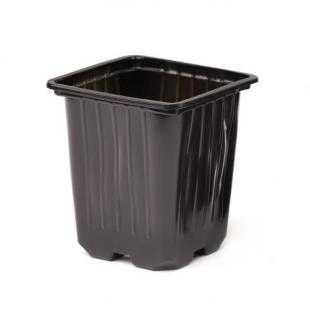 Горшок для рассады пластиковый мягкий (9х9х10 см)