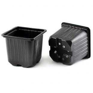 Горшок для рассады пластиковый мягкий (9х9х8 см)