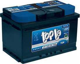 Аккумуляторы TopCar TC6СТ-EX-60-А3